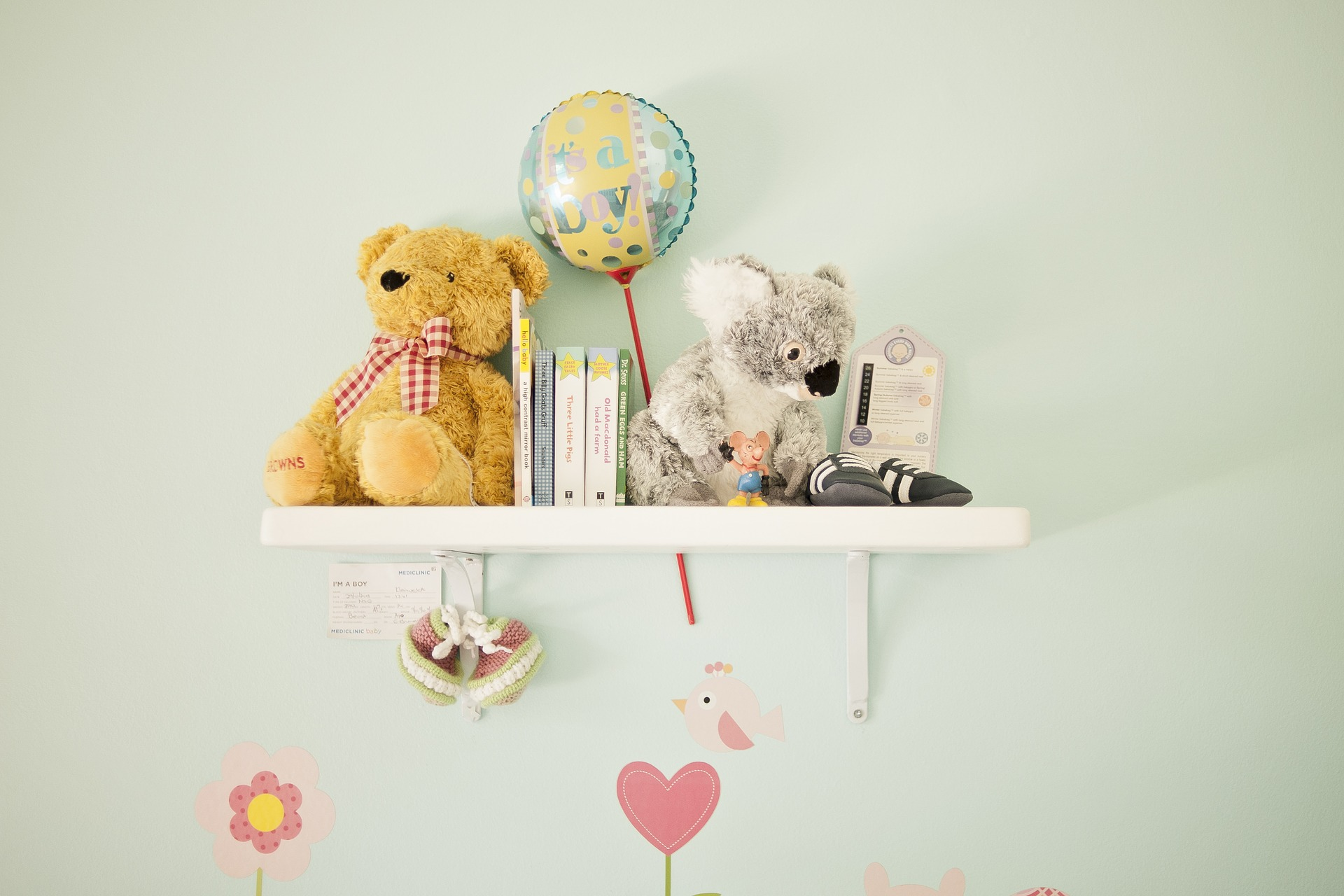 Nursery, Baby Shower, and Things that Only Happen In Pregnancy