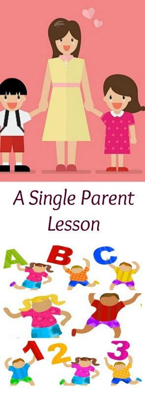 A Single Parent Lesson