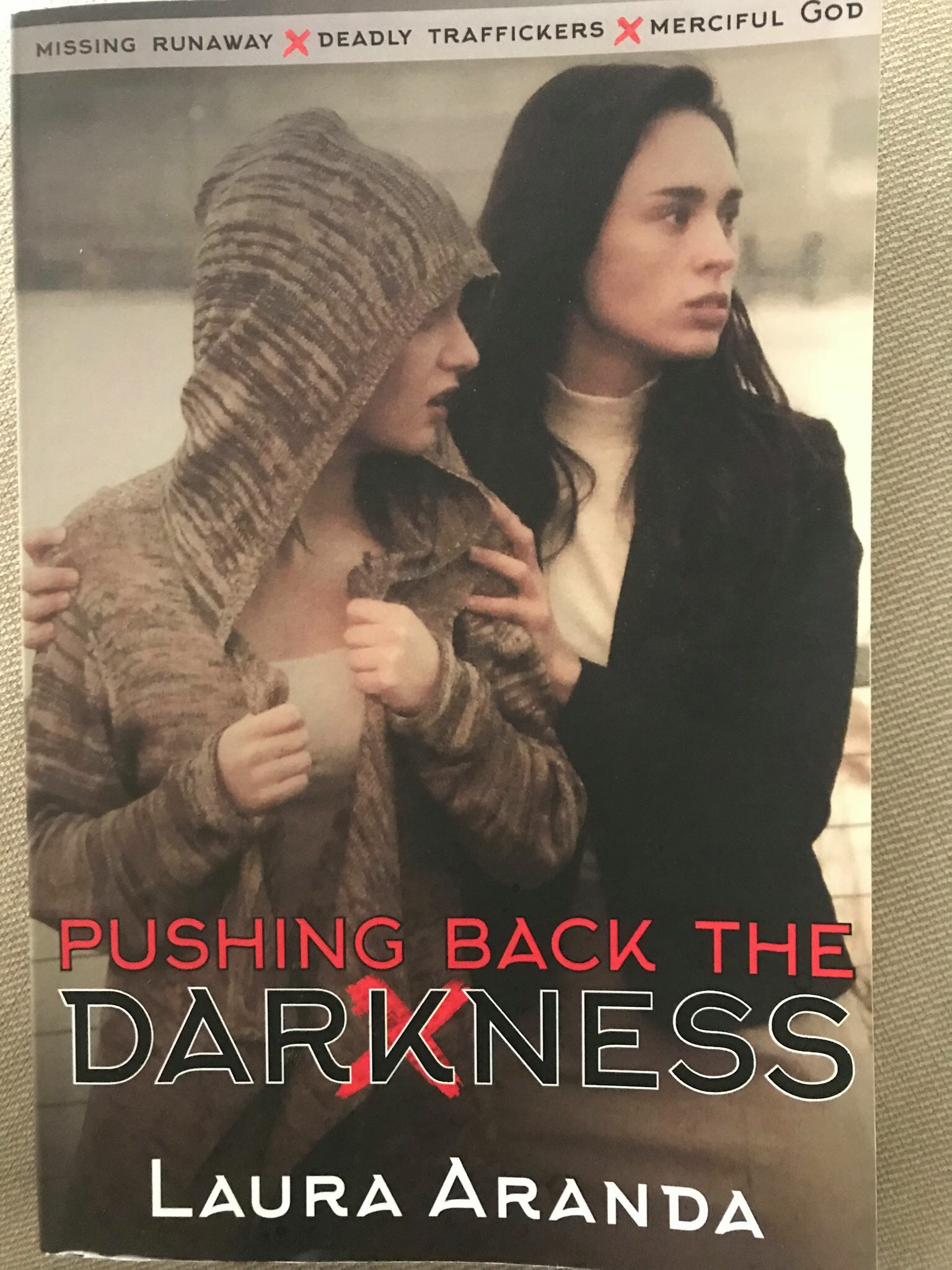 Pushing Back the Darkness – Bringing awareness to Human trafficking in America  (Guest Post Days)